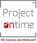 Projectontime - Klinisches Projekt- und Vergabemanagement seit 2017 Logo